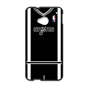 Happy San Antonio Spurs T-shirt Fahionable And Popular Back Case Cover For HTC One M7