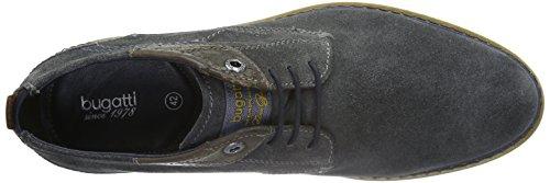 Bugatti 312169011400, Zapatos de Cordones Derby para Hombre Gris (d.grau 1100d.grau 1100)