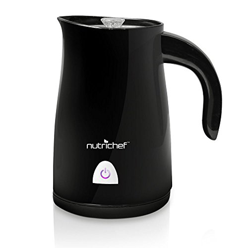 Pyle NutriChef PKMFR12 Electric Milk Frother and Warmer, ...