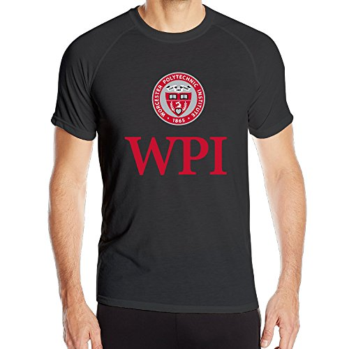 PTR Men's Lightweight Worcester WPI Logo Polytechnic Institute Sports Short Sleeve Size M - Ray Ban Review