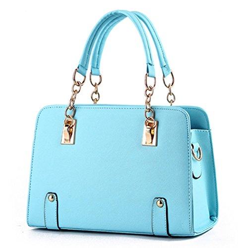 Bolsos de mano de las señoras de lujo del nuevo diseñador de las señoras Bolsos Azul claro