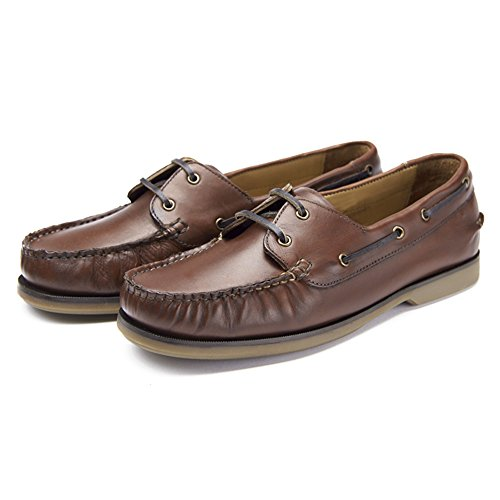 da Brown Up uomo Lace Windsor barca Samuel Scarpe nqZxw4SCR