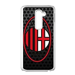 Design Durable Phone Cases Blitf LG G2 Cell Phone Case AC Milan Hard Back Cover Protector