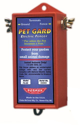 Parmak Pet Gard 110/120 Volt Contoller For Back Yards & Gardens PG50