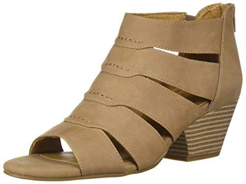 Naturalizer Womens Thongs - SOUL Naturalizer Women's DORI Sandal, Taupe, 6.5 M US