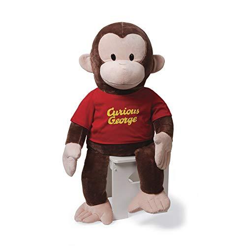 GUND Curious George T-Shirt Stuffed Animal Plush, 36