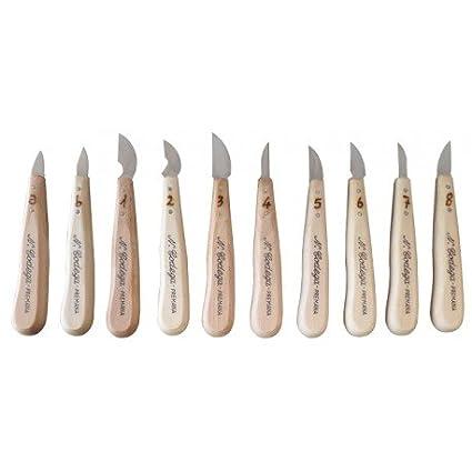 Tenartis 437 Cuchillo para Tallar Madera Hoja 5 - Made in ...
