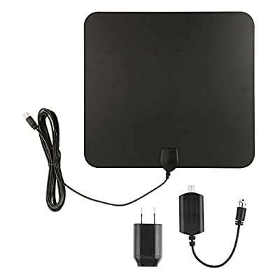 Blimark HDTV Indoor Antenna- 50 Miles Digital Long Range TV HD Antenna With Amplifier Signal Booster Upgraded Version Better Reception by Blimark