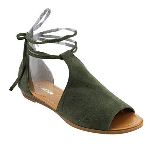 Soda Womens Piece Sideless Sandal product image