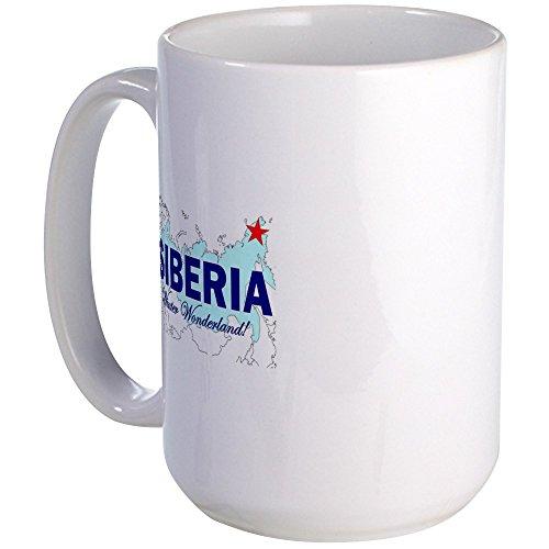 (CafePress Siberia: Winter Wonderland Large Mug Coffee Mug, Large 15 oz. White Coffee Cup)
