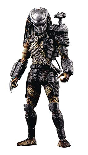 Hiya Toys Predator: Jungle Predator 1: 18 Scale Action Figure, Multicolor