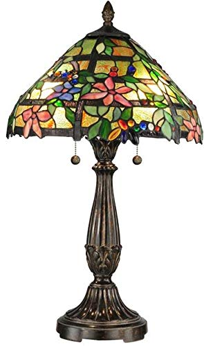 (Dale Tiffany TT12364 Trellis Table Lamp, 16