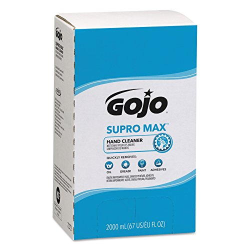 GOJO 727204CT Supro Max Hand Cleaner, 2000mL Pouch(pack of 4) from Gojo