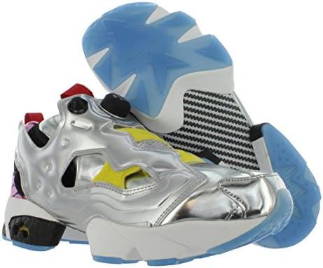 Reebok AR1445 Men Instapump Fury OG VP Sneakers SILV MET