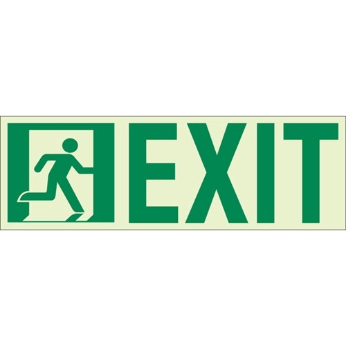 Unframed Exit Signs - 5