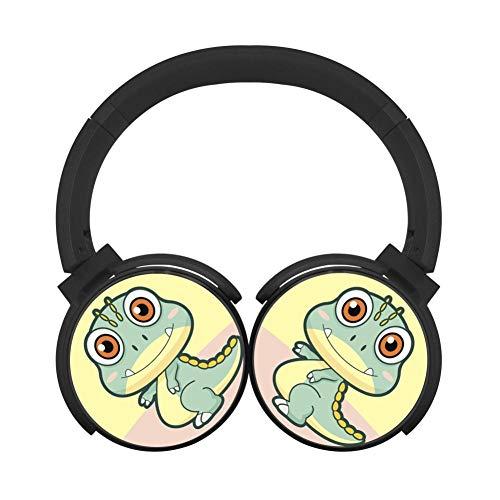 Fashion Wireless Headphone Cute Dinosaur Portable Headset Bluetooth Earphone -