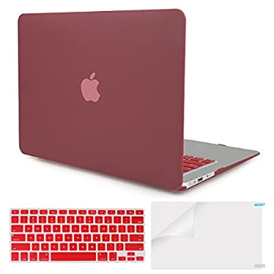 Soft-Touch Plastic Hard Case Cover for MacBook Air 13