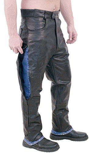 Leather Motorcycle Overpants - 9