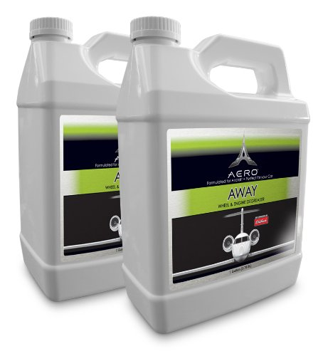 Aero 5879-2 Away Tire and Engine Degreaser - 1 Gallon, (Pack of 2) by Aero