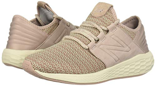 New Balance Women's Cruz V2 Fresh Foam Running Shoe Faded Birch/au Lait/Alabaster 5 B US by New Balance (Image #6)