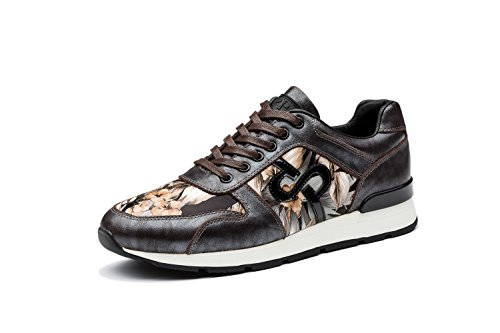 OPP Homme Baskets Chaussures de Course Neuf Marron