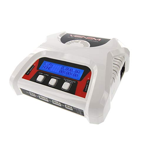 Venom 2-4 Cell AC/DC RC LiPo Dual Battery Balance Charger by Venom RC