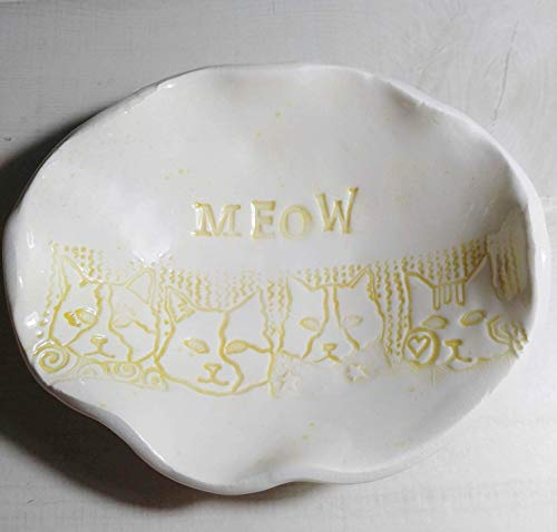 Cats Meow Dish Candy Dish ()