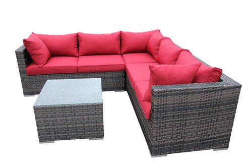4-Piece-Conversation-Set-Wicker-Patio-Sofa-Set-RED