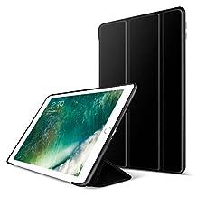 iPad Mini 4 Case,GOOJODOQ Smart Cover With Magnetic Auto Sleep/Wake Function PU Leather Shockproof Silicon Soft TPU Folio Case For Apple iPad Mini 4 in Black