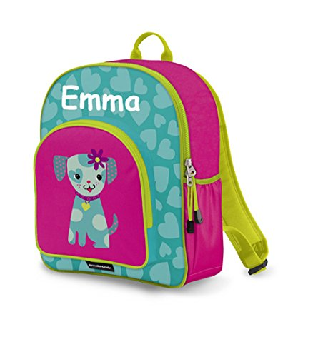 Personalized Crocodile Creek Kids Little Puppy School or Travel Backpack - 14 Inches (Personalized Backpacks compare prices)