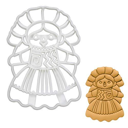 Mexican Rag Doll cookie cutter, 1 piece - Bakerlogy -