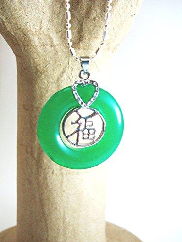 green jem necklace - 2