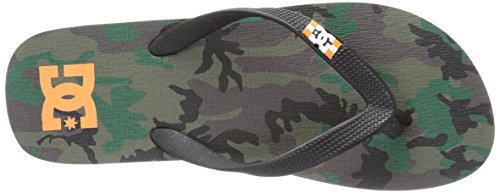 DC Männer Spray Graffik M 3 Point Sandal, EUR: 40.5, Orange/Camo