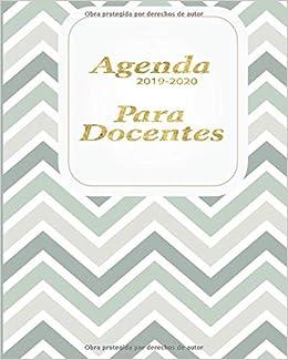 Agenda 2019-2020 Para Docentes: Planificador y Agenda ...