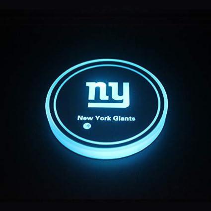 OZ6YA Minn-es-OTA Vik-ings 2 St/ück LED-Getr/änkehalter Licht LED-Untersetzer 7-Farben-Untersetzer USB-Ladeger/ät Untersetzungszubeh/ör Innendekoration FahrzeugdekorationBeleuchtung Innenbeleuchtung 10