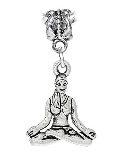 yoga-meditation-sitting-sukhasana-pose-dangle-charm-for-european-bracelets