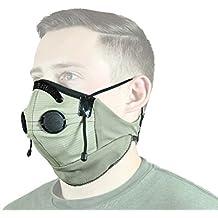 ATV Tek Pro Series Rider Filtered Dust Mask (Tan/Black, Universal)
