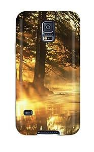 Tpu Case Cover Compatible For Galaxy S5/ Hot Case/ Peekaboo Sunshine
