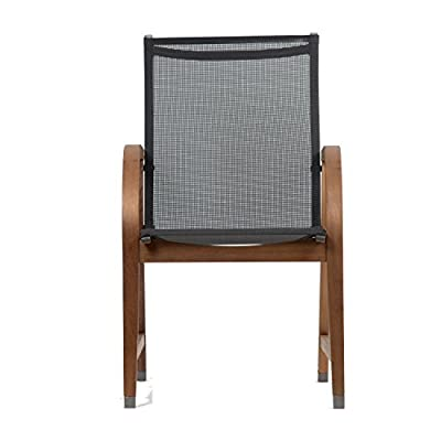Amazonia Bahamas 4-Piece Armchair - Amazonia Eucalyptus Collection 4 Armchairs 22Wx23Dx37H. Seat Dimensions:18Wx18Dx18H. High Quality Eucalyptus Wood (Eucalyptus Grandis) - patio-furniture, patio-chairs, patio - 41nG53XRciL. SS400  -