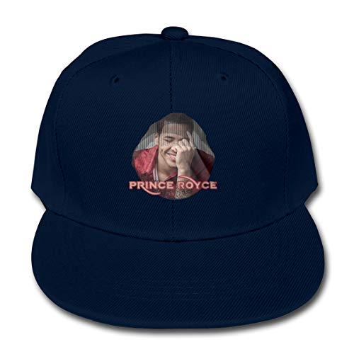 (LWOSD Child Baseball Hat, Prince Royce Plain Cotton Baseball Cap Sun Protect Ajustable Hats for Boys Girls Navy)