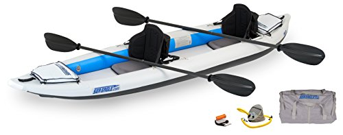 Sea Eagle 385FT FastTrack Inflatable Kayak Pro Carbon Package
