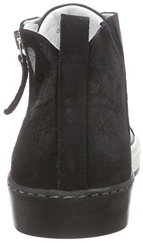 Strellson Evans High Sneaker Calf/Suede - Zapatillas Hombre Negro - negro (900)