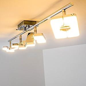 Wir Haben Diese Lampe In Unserem Wohnzimmer Auf Dem Produktbild Sieht Die Helligkeit Nicht So Rosig Aus Aber Nach Der Montage Muss Ich Klar Sagen