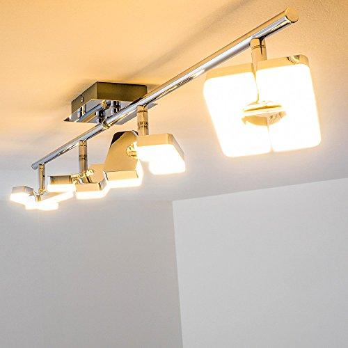 Plafoniera a LED in metallo