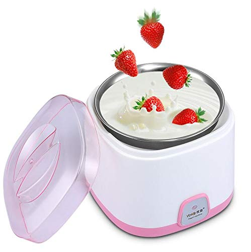 Yogurt Makers Automatic Manufacture Multi-Function Household Stainless Steel Liner 1L 15W 220V 50Hz L