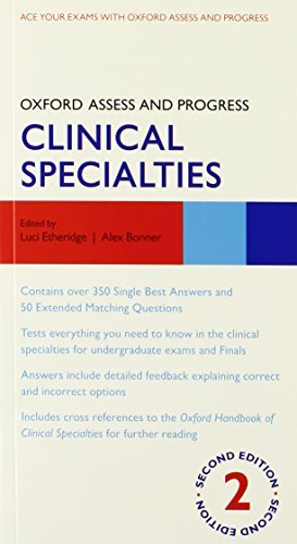 Oxford Handbook of Clinical Specialties 9e and Oxford Assess and Progress Clinical Specialties 2e Pack (Pack) (Oxford Medical Handbooks) by Judith Collier (2013-07-04)