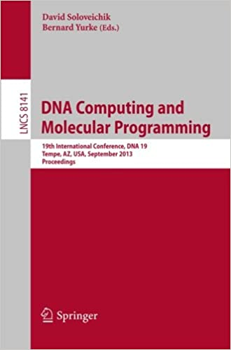 DNA Computing and Molecular Programming: 19th International
