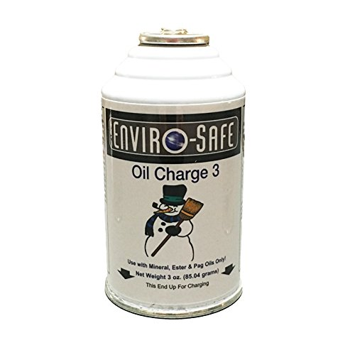 Enviro-Safe R-134a R12 R22 Oil Charge, 1 3oz Can