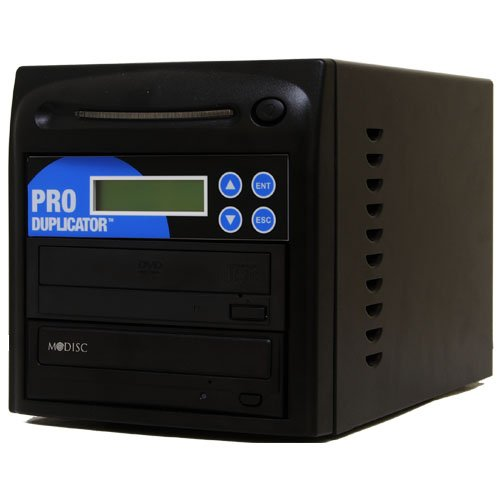 Produplicator 1 to 1 M-Disc (Permanent Data Back Up Disc) CD DVD Duplicator (with USB Connection & Nero Essentials Burning Software) - Standalone Duplication Tower Copier Replication Burner by Produplicator
