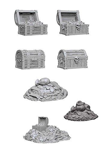 Wiz Kids Deep Cuts Miniatures Bundle: Chests & Treasure Piles